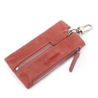 男士钥匙包女士牛皮复古锁匙包 腰挂车钥匙包零钱包