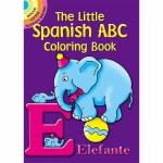 The Little Spanish ABC Coloring Book(【按需印刷】)
