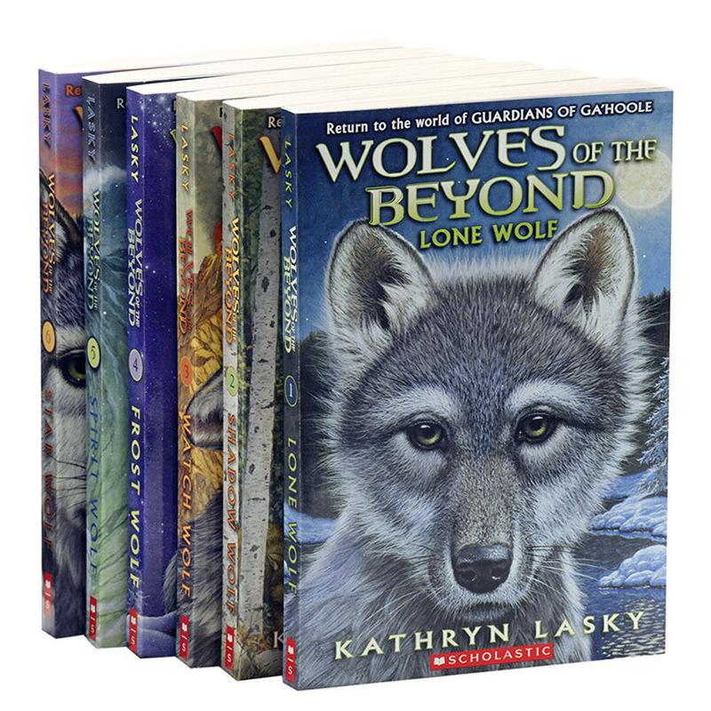 """绝境狼王系列6册套装 英文原版 Wolves of the Beyond 凯瑟琳拉丝基纽约时报畅销图书作家 动物小说 猫头鹰王国作者 动物世界 儿童文学畅销书 与《猫武士》并称""""奇幻动物文学双璧"""" 一部震撼心灵的动物励志成长小说 探寻狼族文化体验,磨练狼之意志,跨越生命与自然的坚强与感动"""
