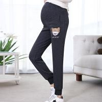 孕妇裤子装外穿棉裤加绒加厚运动裤孕妇装宽松保暖孕妇装装