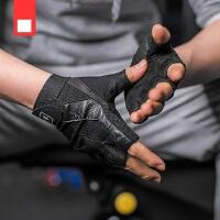 哑铃防滑护手半指 单车器械训练透气手套 新款健身手套 户外运动耐磨手套