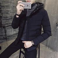棉衣男冬季外套潮流青年加厚棉袄韩版修身帅气连帽上衣冬装男棉服DJ-DS206
