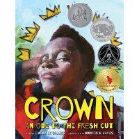 英文原版 皇冠 2018年纽伯瑞、凯迪克双料获奖作品 精装绘本 Crown: An Ode to the Fresh