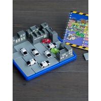 小乖蛋惊险拦截警察抓小偷闯关逻辑思维训练推理游戏儿童益智玩具
