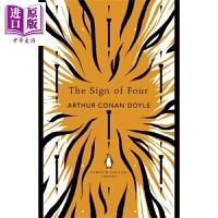【中商原版】福尔摩斯探案 四签名 英文原版 Holmes The Sign of Four 柯南道尔 Conan Doy