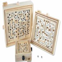 迷宫玩具走珠滚珠益智力平衡成人儿童闯关大号钢珠球立体轨道游戏