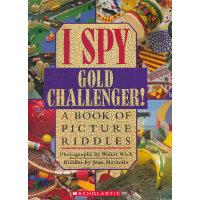 I Spy: Gold Challenger! 视觉大发现:黄金挑战者 9780590042963