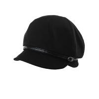 时尚帽子女冬季潮韩版百搭鸭舌帽贝雷帽秋冬日系渔夫帽女士八角帽