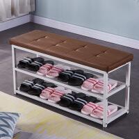 可坐鞋柜创意收纳鞋架宿舍沙发长方形置物凳子家用储物柜 其他