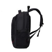 年春季新款男士电脑包 休闲旅行黑色商务便携式15寸双肩电脑包 #16寸