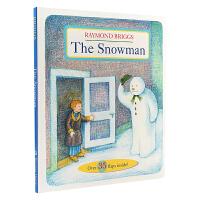 【中商原版】The Snowman 英文原版 雪人 纸板书 趣味翻翻书 多达35个翻页 经典故事书