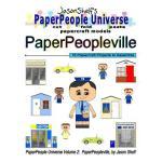【预订】Jason Shelf's Paperpeople Universe: Paperpeopleville: C