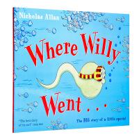 【中商原版】英文原版 Where Willy Went…威利向前冲 生理健康 生理知识启蒙 性教育