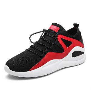 新款男鞋跑步鞋网面耐磨韩版休闲鞋运动鞋男 轻便慢跑鞋男鞋