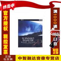 正版包票BBC 致命瞬间 灾难全纪录 2DVD 视频音像光盘影碟片