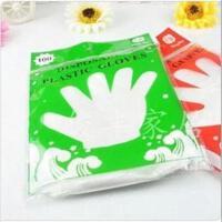 家居一次性手套 PE手套 食用薄膜手套 卫生手套 100只装