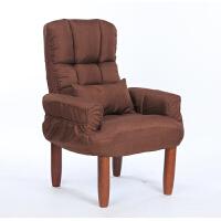 日式懒人沙发单人布艺休闲榻榻米电视电脑椅午休孕妇哺乳椅老人椅 30厘米脚
