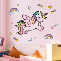 网红少女心贴纸墙贴画卧室小房间装饰墙上布置墙壁纸墙纸自粘