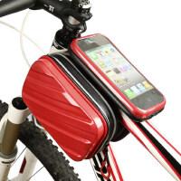 硬壳山地自行车包前梁包触屏上管包马鞍包骑行装备配件