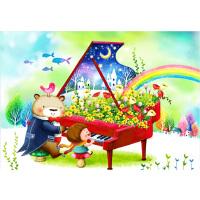1000片木质拼图1500儿童益智玩具卡通动漫画 钢琴协奏曲
