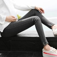 孕妇裤子春季2018新款托腹潮妈时尚修身托腹裤外穿小脚裤孕妇春装