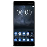 诺基亚6 (TA-1000/全网通) 4G RAM+64G ROM 智能手机(黑色)