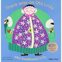 Old Lady:40th Anniversary 吃飞虫的老太婆:40周年版 ISBN 9781846435997