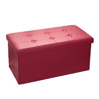 长方形小收纳凳子可坐储物凳沙发换鞋凳床尾凳家用能坐收纳箱家庭日用收纳用品