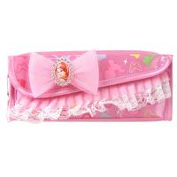 迪士尼( Disney)P65142 韩版公主学生笔袋女文具袋颜色随机 当当自营