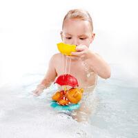 【新品】德国Hape宝宝婴儿洗澡玩具儿童浴室喷水戏水漂浮洒水套装