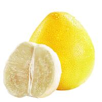 【包邮】福建�g溪白心蜜柚2只装 共约5斤左右