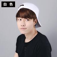 帽子女韩版个性棒球帽嘻哈纯色男学生潮时尚户外遮阳春夏季鸭舌帽
