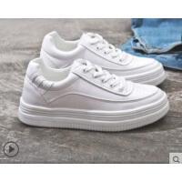 小白鞋女新款韩版百搭学生休闲运动山本风内增高白鞋