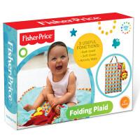 FisherPrice费雪正多功能折叠毯收纳毯婴幼儿爬行毯宝宝小地毯