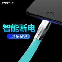 洛克(Rock)苹果X数据线iPhone8Plus锌合金手机充电线