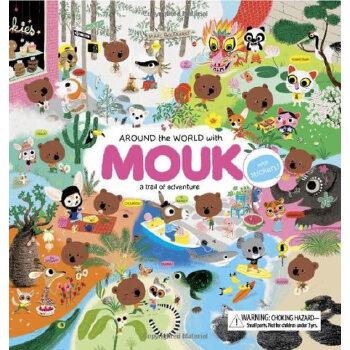 Around the World with Mouk 跟莫克一起环游世界(法国插画师Marc Boutavant作品,精装) IBSN9780811869263