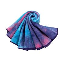 [当当自营]皮尔瑜伽 (pieryoga)加厚瑜伽铺巾 吸汗防滑瑜伽毯 麂皮绒健身毯 紫灰色(送收纳袋)