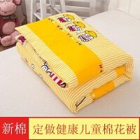 定做纯棉花幼儿园床垫婴儿褥子儿童棉花床褥子垫被子盖被宝宝垫子