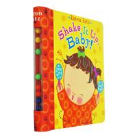 Shake It Up, Baby!纸板书趣味玩具书 英文原版Karen Katz凯伦卡茨