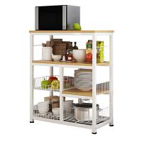 厨房微波炉置物架落地多层收纳架电器层架省空间收纳架整理架家用