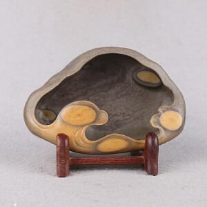 中国非物质文化遗产传承传承人群 钟景锐作品《祥云》笔洗 梅花坑