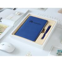 商务礼品笔记本记事本定制可印logo实用年会礼品本子签字笔套装定制