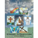 Signs of God Religious Stained Glass Patterns: 35 Designs -