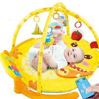 婴儿健身架脚踏钢琴新生儿音乐宝宝玩具3-6-12个月 充电版