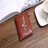 ?零钱包女士短款2018新款学生小清新折叠可爱多功能韩版个性皮夹?
