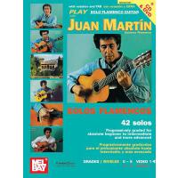 【预订】Play Solo Flamenco Guitar with Juan Martin Vol. 1 [With