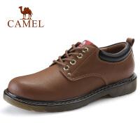 camel骆驼男鞋 秋季新品牛皮工装鞋马丁鞋潮男时尚户外休闲男鞋子