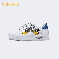 【狂欢返场3折价:80.7】巴拉巴拉官方童鞋男童板鞋小白鞋小童2021新款春秋