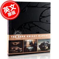 现货 蝙蝠侠黑暗骑士装备手册 英文原版 The Dark Knight Manual 黑暗骑士电影画册 装备设定 人物
