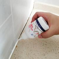 瓷砖美缝剂白色防水防霉勾缝剂地板砖缝隙填缝剂玻璃胶水性配方
